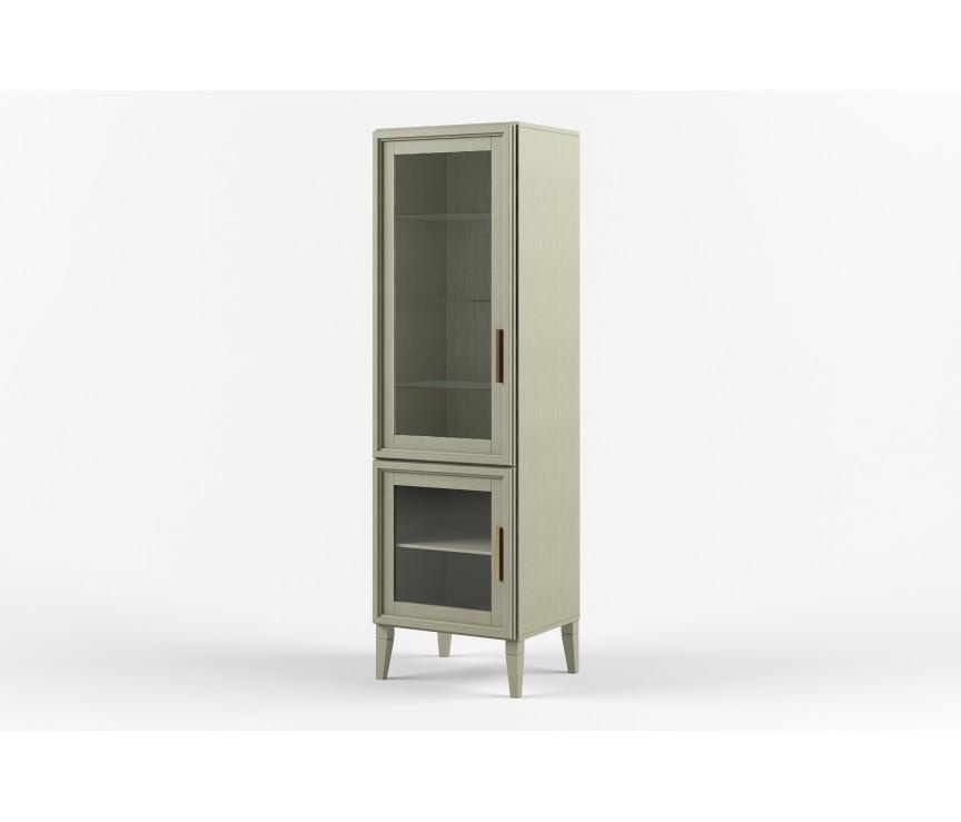 """Коллекция «Шкаф с витриной D-2 (левый) """"Charlie"""" ВМФ-1525-01»"""