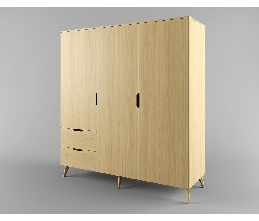 """Коллекция «Шкаф для одежды 3-ех дверный """"Elva-B2D3"""" ВМФ-1577»"""
