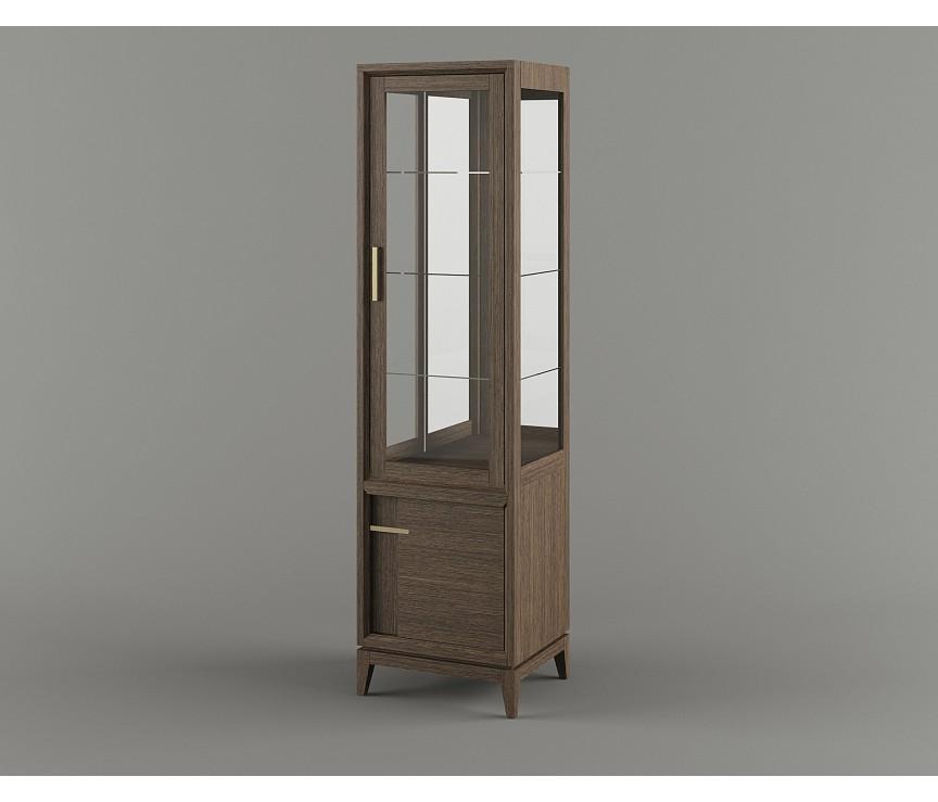 """Коллекция «Шкаф с витриной  B1 """"Boston"""" ВМФ-1645»"""