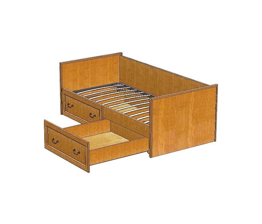 Коллекция «Кровать (с основанием 1950*900)  ВМФ-5092»