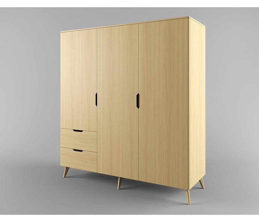 Коллекция «Шкаф для одежды 3-х дверный Элвис »
