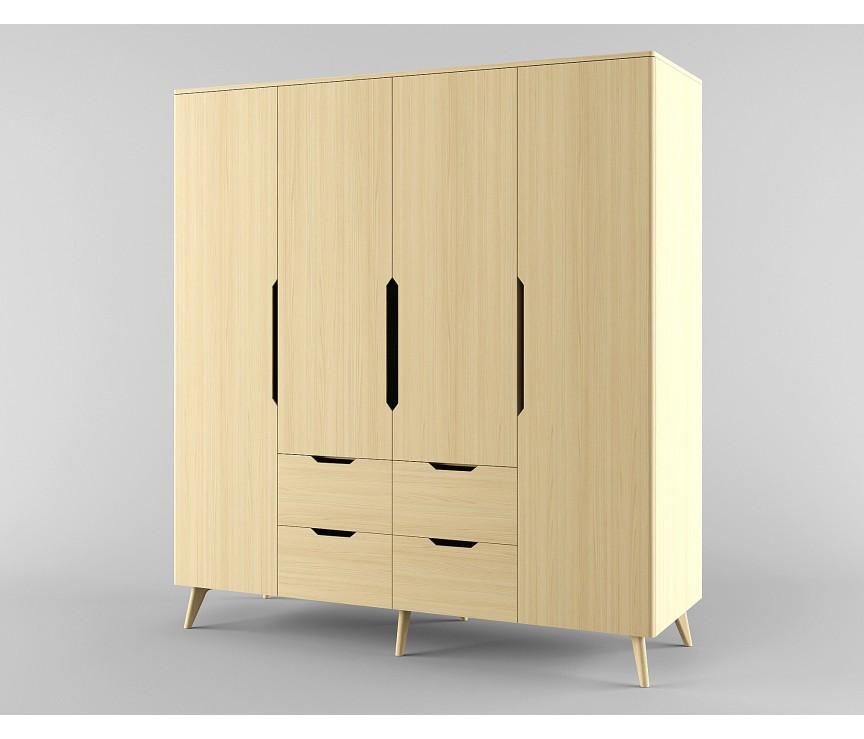 Коллекция «Шкаф для одежды 42-х дверный Элвис »