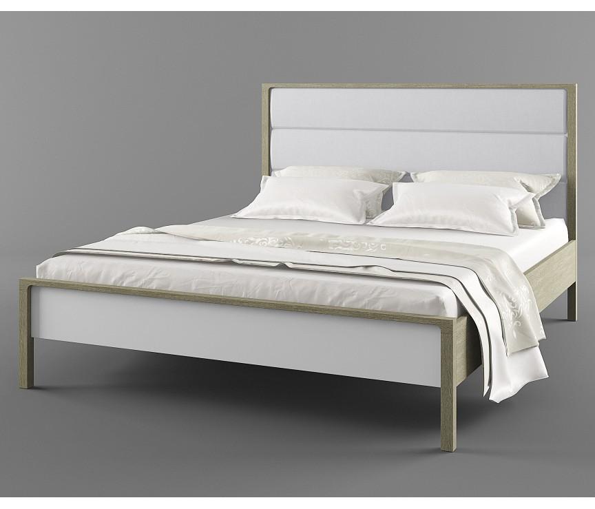 """Коллекция «Кровать 160 с основанием (Verona 06 Light Grey) """"Хитроу"""" ВМФ-1666.1 тк.  Verona 06 Light Grey»"""