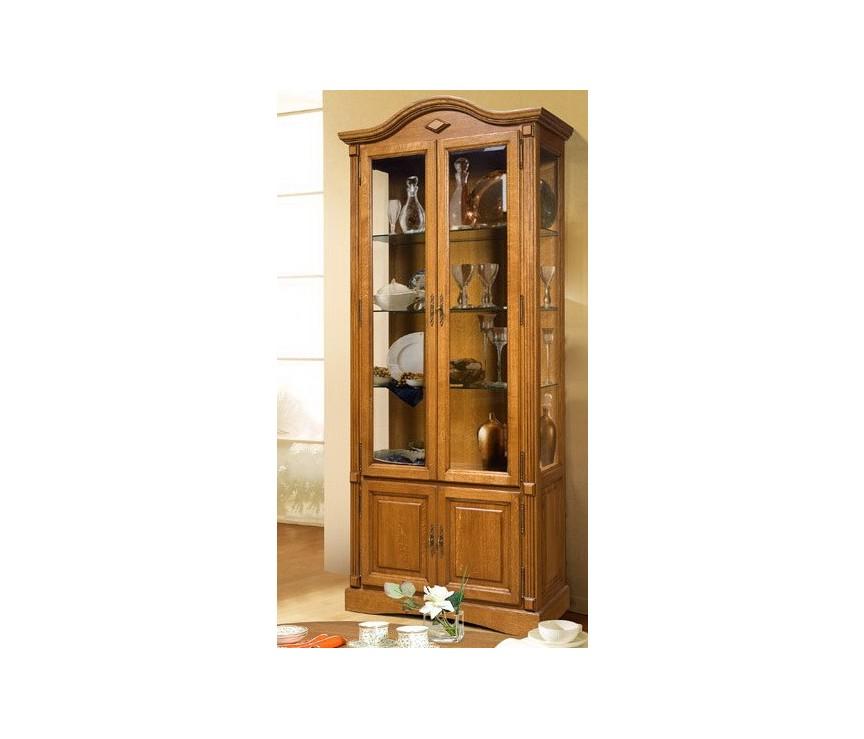 Коллекция «(SALE) Шкаф с витриной Рубин-ММ ВМФ-6524-ММ Д1»